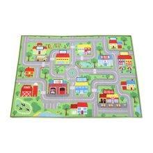 Baby Boys Early Education City Map Floor Mat