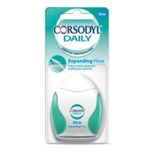 Corsodyl Daily Expanding Floss 30m - Pack 2 6 Packs -  corsodyl daily expanding floss 30m pack 2 6 packs
