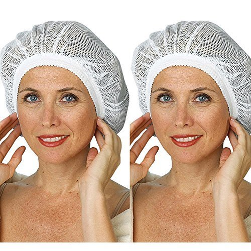 2 Pack Mesh Sleep Cap Smooth Bonet With Free Eyeglass Pouch Fits Most Sizes By Juniper S Secret