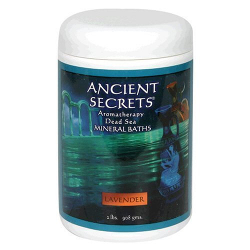Ancient Secrets Mineral Baths Aromatherapy Dead Sea Lavender 32 Oz 2 Lbs 908 G Pack Of 2
