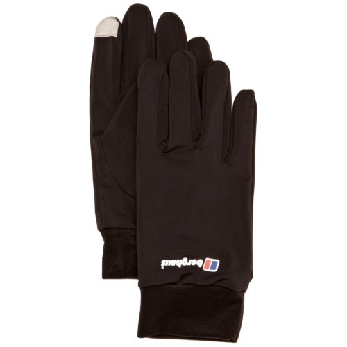 Berghaus Kids' Outdoor Gloves available in Black/Black - Large