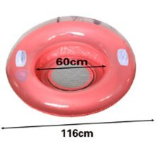 Floating Floor The Water Inflatable Bed Cushion Couch Sofa Floati Watermelon Red