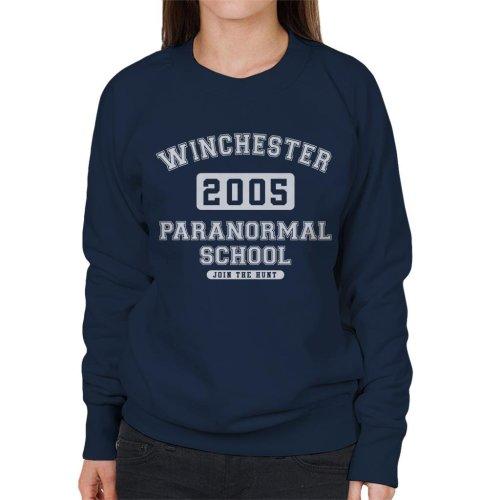 Winchester Paranormal School Varsity Text Women's Sweatshirt