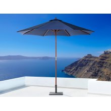 Garden Parasol - Patio Umbrella - Wooden - 270 cm -   - TOSCANA II