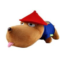 Plush Toy Doll Long Mouth Pup Absorb HCHO Odor Bamboo Bag,officer