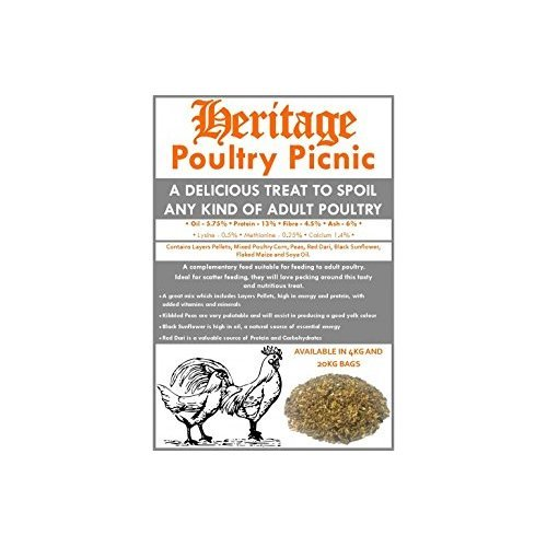 Heritage Poultry Picnic Mix 20kg