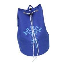 Dance Dags Shoulder Latin Ballet Drawstring Backpack Dance for Girls, Blue B