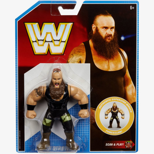 WWE Retro - Series 8 - Braun Strowman Figure