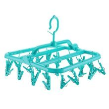 Foldable Multifunction Multi Clip Drying Racks Adult/Baby Clothes Tree-G