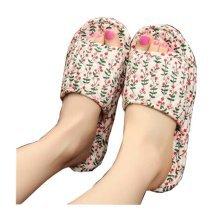 Beautifu Plant Pattern Style Women Slippers,Lovele Student Slippers