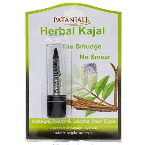 3 Pack Patanjali Herbal Kajal, 3g each