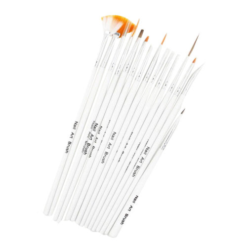 15 PCS Toe Nail Art Pens Nail Brush Art Nail Art Tools Nail Supply Nails Design
