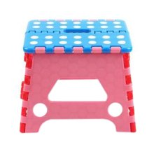 Creative Plastic Foldable Step Stool Portable Folding Stools Stepstool for Kids & Adults, No.4