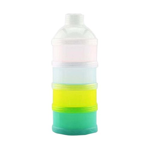 Multi Color & Multi-layers Baby Dietary Supplement/Milk Powder Container