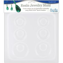 "Resin Jewelry Mold 6.5""X7""-Earrings - 3 Pairs"
