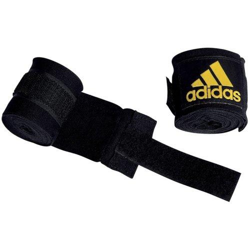 4.5m Black Adidas Boxing Hand Wraps