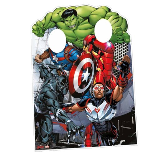 "Star Cutouts SC814 ""Avengers Assemble Child- Size Stand In"" Cardboard Cut out"
