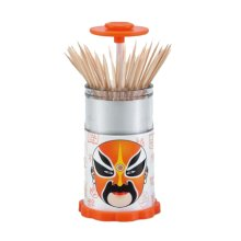 Wonderful Style Portable Hand Pressure Automatic Toothpick Holder