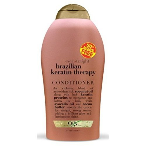 Ogx Conditioner Brazilian Keratin Therapy 19.5oz Bonus Size (2 Pack)