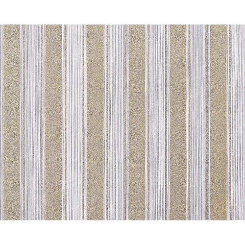 EDEM 658-92 non-woven block stripes wallpaper XXL purple gold glitter 10.65 sqm