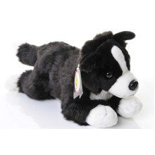 Dowman Border Collie Dog Soft Toy 38cm