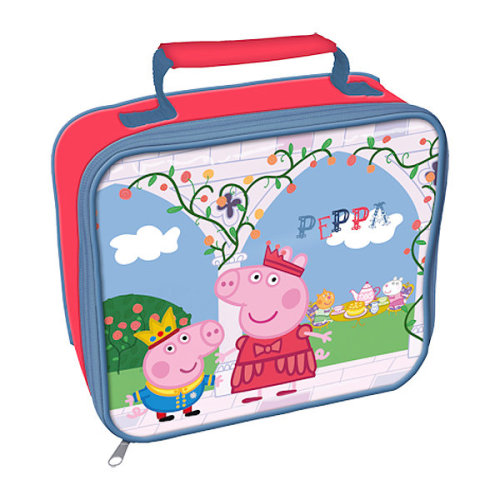 Peppa Pig Once Lunch Bag - School Insulated Kids Upon Bottle New Time Box -  lunch peppa pig bag once school insulated kids upon bottle new time box