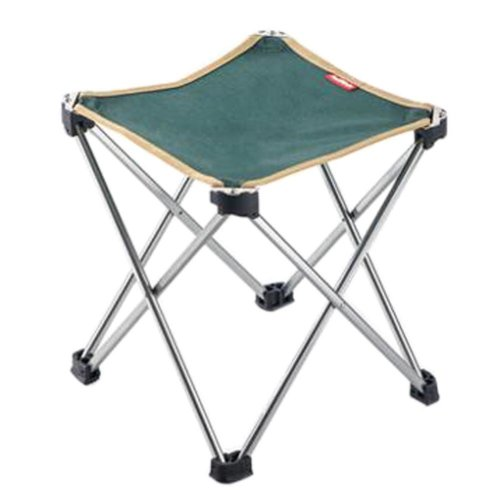 Portable Folding Chair Stool Camping Chairs Fishing Train Travel Paint Outdoor, Grand Green