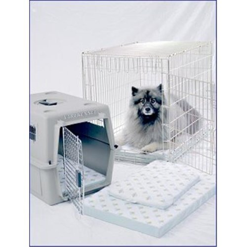 21.5 x 33.5 Inch Ultra-Dry Transport System-Crate Pad - Fits Most 36 Inch Wire Crates