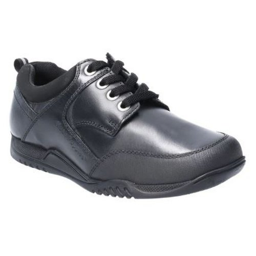 Hush Puppies Dexter Boys Junior Lace Up Leather School Shoe