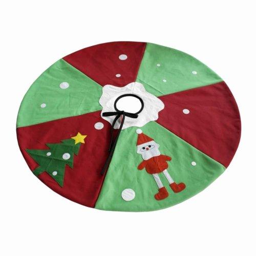 Festive Christmas Ornaments Christmas Santa Tree Skirt 35''