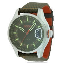 Hugo Boss Textile Strap Mens Watch 1550016