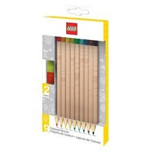 LEGO 9 Pack Coloured Pencils - Assorted