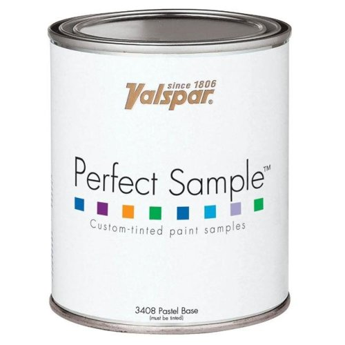 Valspar Brand 1 Pint Pastel Base Perfect Sample Custom-Tinted Paint Samples 27-