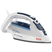 Tefal FV4970 Smart Protect Home Steam Iron with Durilium Soleplate 2500W - White