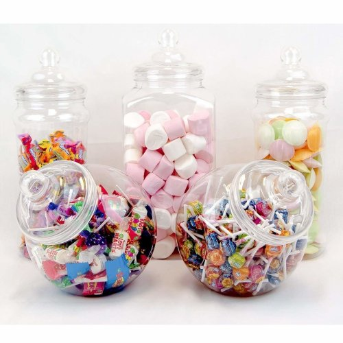 5 Large Vintage Victorian Pick & Mix Sweet Shop Candy Buffet Kit Party Pack