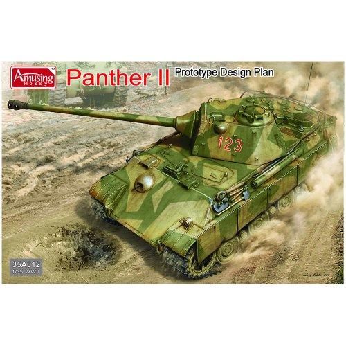 1:35 Panther II Prototype Design Plan Military Model Kit