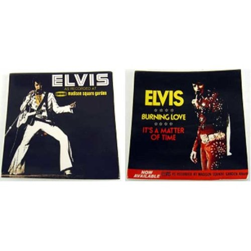 Elvis Presley Cover Design Small Plates