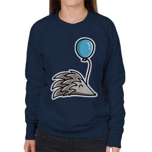 Hedgehog With A Balloon Women's Sweatshirt