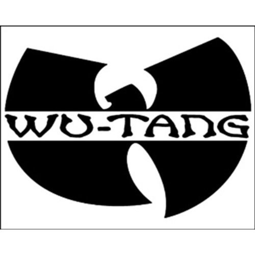 Licenses Products Wu-Tang Clan Logo Sticker