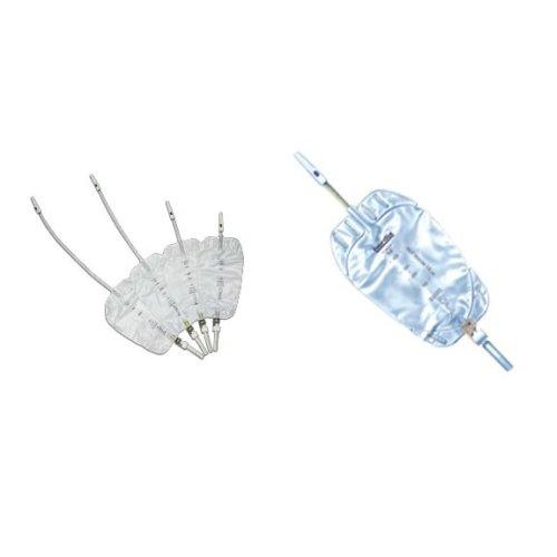 URIPLAN® Leg Bag with Elastic/Velcro® Straps 10/30cm 500ml - Pack of 10