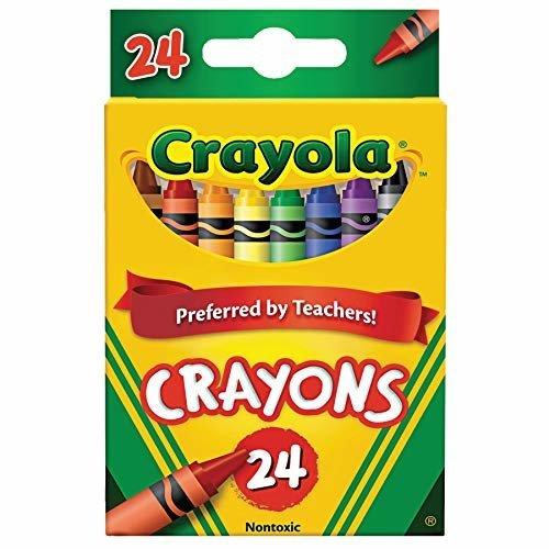 Crayola Crayons 24 ct Pack of 2