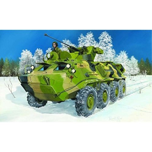 Trumpeter Russian Btr60Pb Armored Personnel Carrier Upgraded 1 35 Scale
