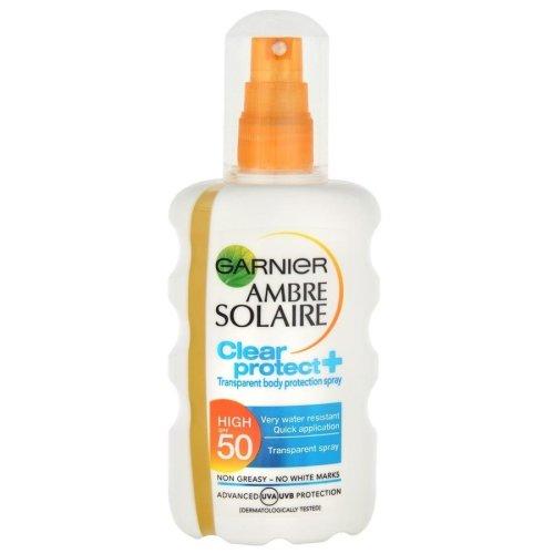 Garnier Ambre Solaire Clear Spray SPF50+ 200ml