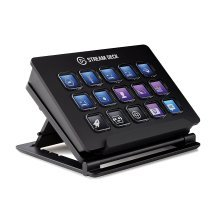Elgato Stream Deck - Live Content Creation Controller with 15 Customizable LCD Keys, Adjustable Stand, for Windows 10 and MacOS 10.11 or later