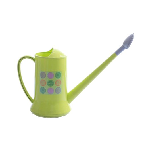 Plastic Detachable Long Spout Watering Pot Watering Can Green