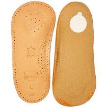 Uk7 Eu41 Mens Woly Solette Insoles - Ladies Insole Size 7 Leather Cushioned - Woly Solette Ladies Insole Size 7 Leather Cushioned Support Shoes E41