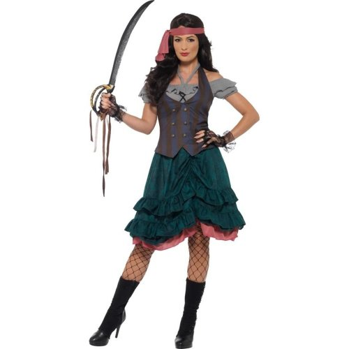 5910d27a104 Deluxe Pirate Wench Costume