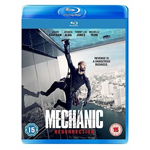 Mechanic: Resurrection [Blu-ray] [2018] [DVD]