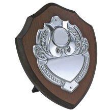 "6"" Wooden Shield/Award - FREE ENGRAVING"