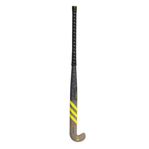 adidas LX24 Carbon Field Hockey Stick Brown/Black/Yellow